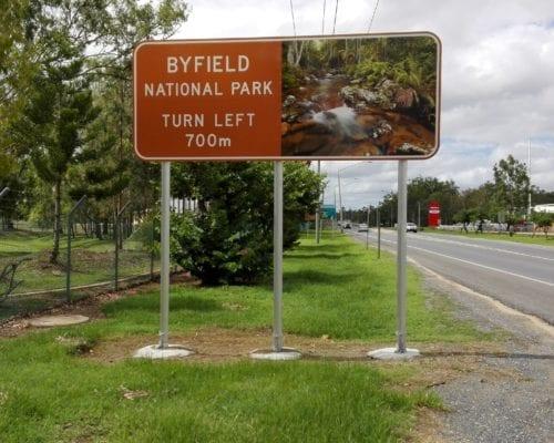 114OD Aluminium Frangible Poles, Rockhampton QLD
